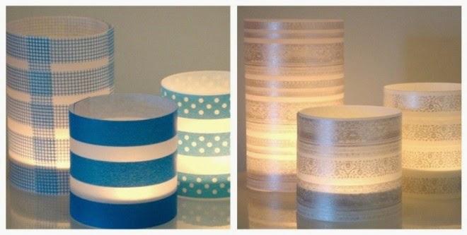 las velas tambin pueden encontrarse dentro de un envoltorio de plstico el cual ser ms fcil de decorar ya que se pegar mejor