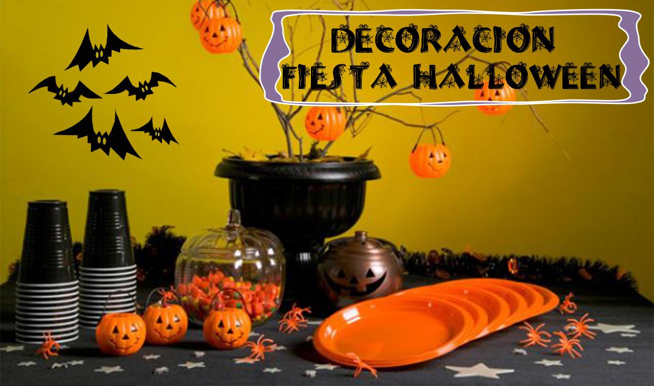 Semana tem tica halloween decoraci n fiesta de halloween for Decoracion fiesta halloween