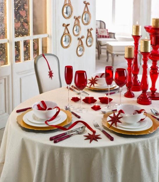 Semana tematica navidad decoraci n mesa de navidad lovepops - Como adornar mesa de navidad ...