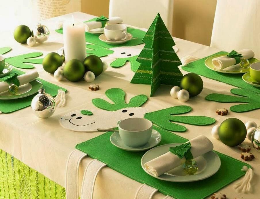 Semana tematica navidad decoraci n mesa de navidad lovepops - Adornos navidenos de mesa ...