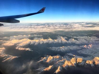 Vistas des del avión