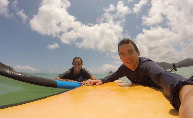 Surf en Lombok